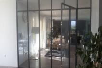 verrière atelier d'rtiste intérieure acier